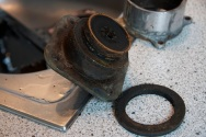 Black brass anyone? Looks like the portafilter seal is past due too